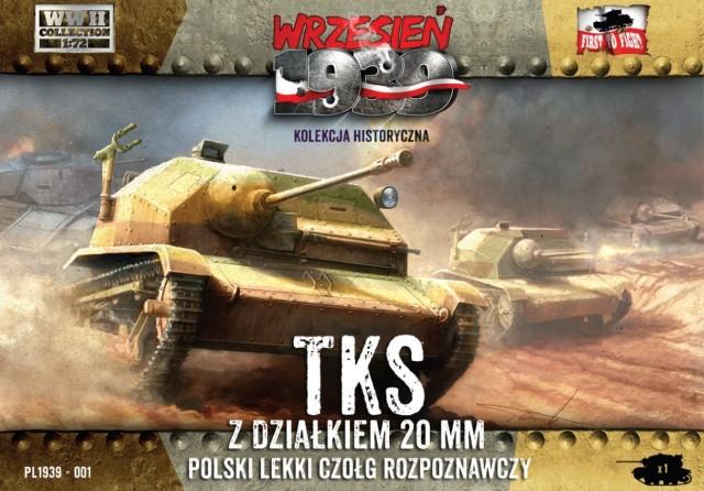 Разведывательная танкетка TKS с 20-мм орудием First To Fight 001