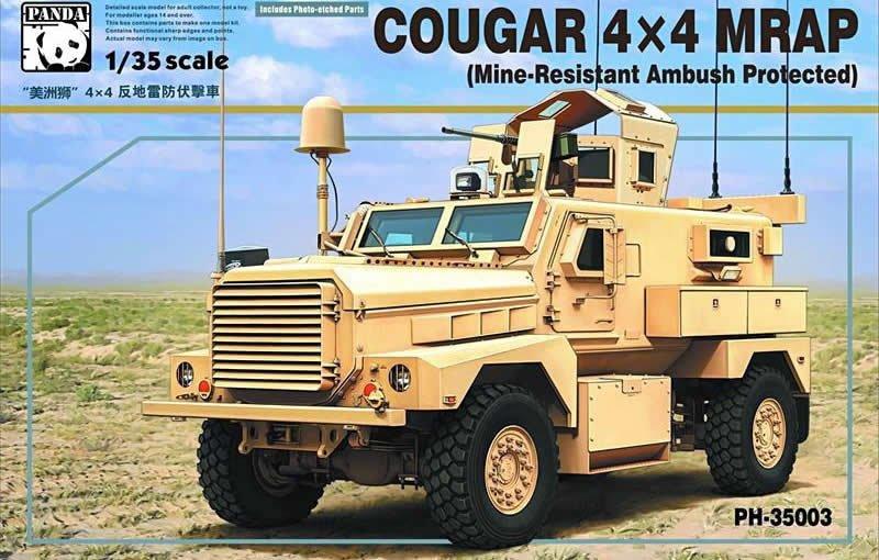 Бронеавтомобиль Cougar 4X4 MRAP Panda 35003
