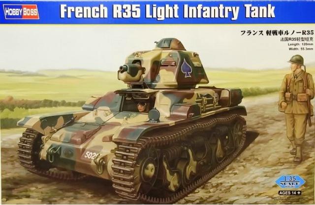 Легкий танк R35 Hobby Boss 83806