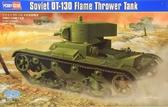Советский огнеметный танк OT-130