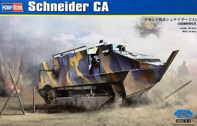 Танк Schneider CA Hobby Boss 83861