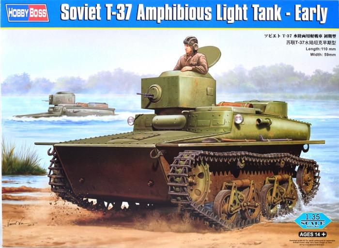 Советский легкий танк Т-37, ранний Hobby Boss 83818