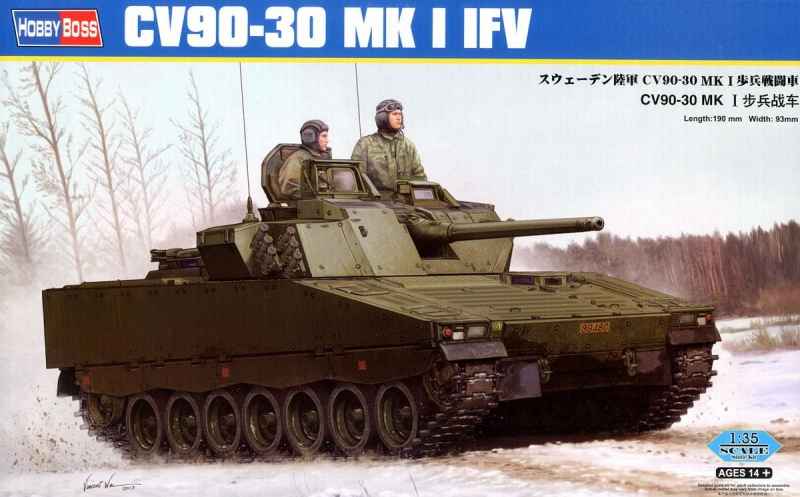 Шведская боевая машина пехоты CV90-30 Mk I IFV Hobby Boss 83822