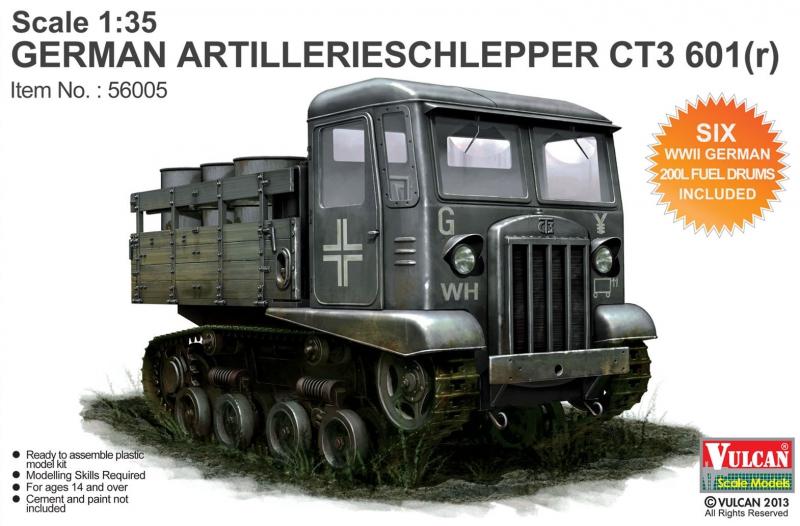 Гусеничный тягач CT3 601 (r) Vulcan 56005