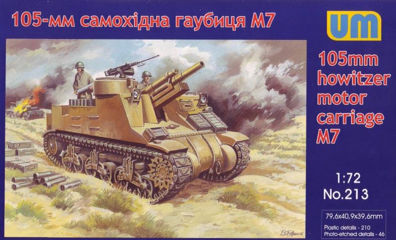 105-мм самоходная гаубица М7 Unimodels 213