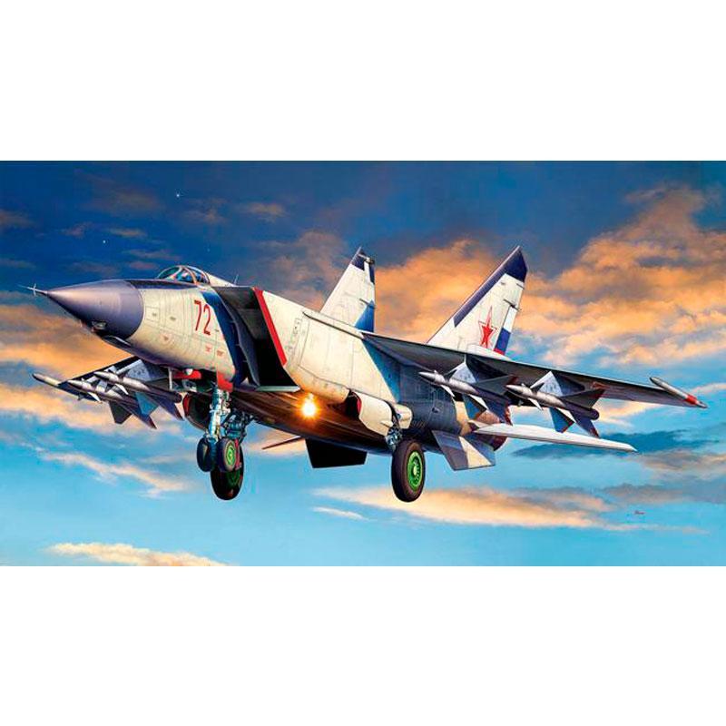 Истребитель Миг-25 Foxbat ( 15,5 см ) Revell 03969