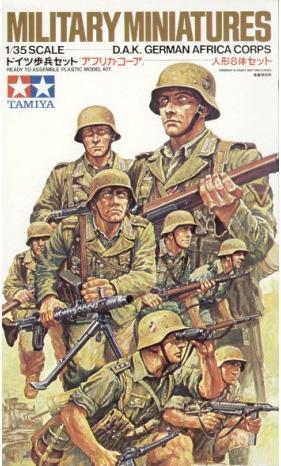 Немецкая пехота Африканский корпус Роммеля Tamiya 35037