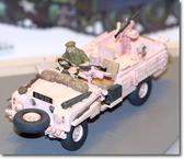 Британская розовая Пантера SAS Land Rover