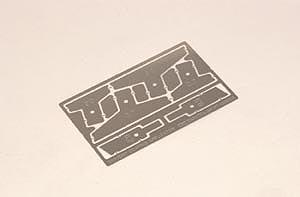Шпателя для нанесения рисунка Zimmerit на бронетехнику Tamiya 35187