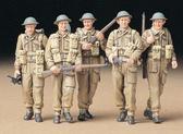 Патруль британской пехоты