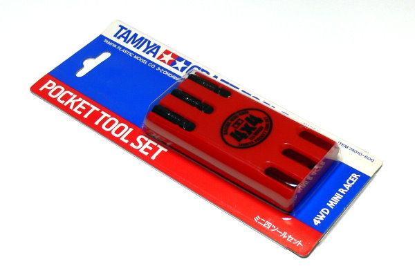 Карманный набор инструментов Tamiya 74010