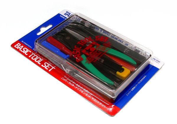 Набор инструментов (отвертки, пинцет, плоскогубцы) Tamiya 74016