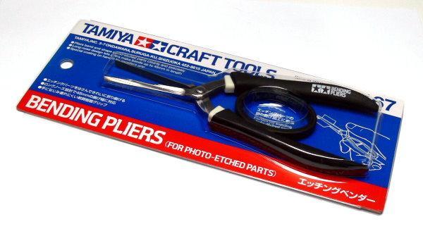 Плоскогубцы для фототравленных деталей Tamiya 74067