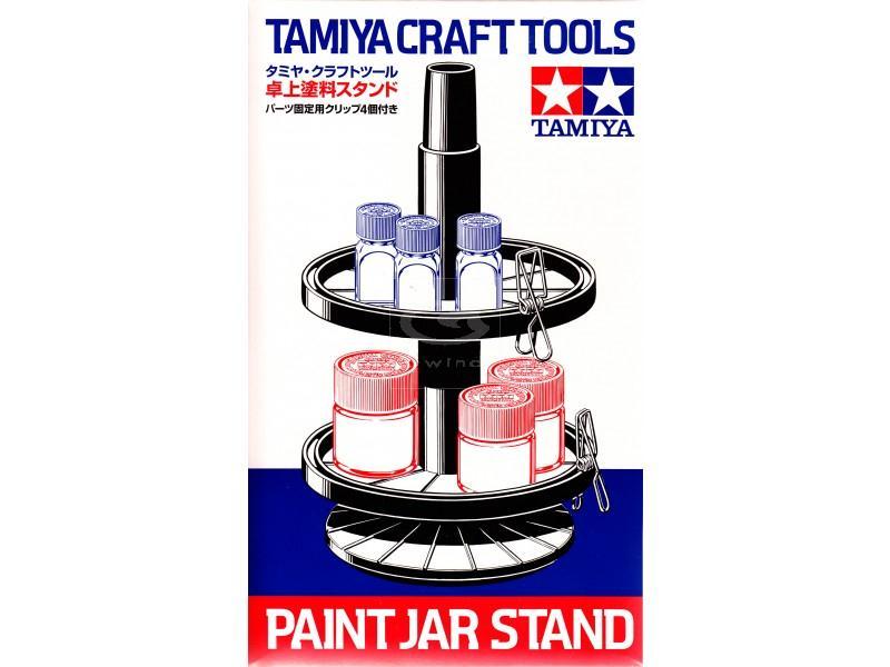 Стенд крутящийся для красок Tamiya 74077