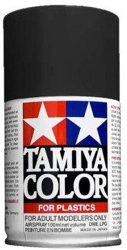 Краска - спрей TS-63 (НАТО черный) 100 мл Tamiya 85063