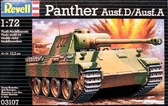 Танк PzKpfw. V Panther Ausf. D/Ausf. A