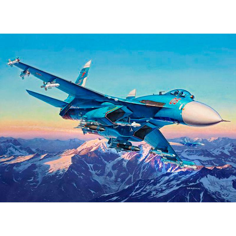 Истребитель Су-27СМ Revell 04937