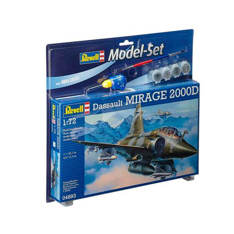 Подарочный набор с самолетом Mirage 2000D Revell 64893