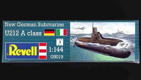 Немецкая подводная лодка U212 Revell 05019