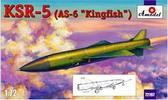 Советская сверхзвуковая крылатая ракета KSR-5 (AS-6 'Kingfish')