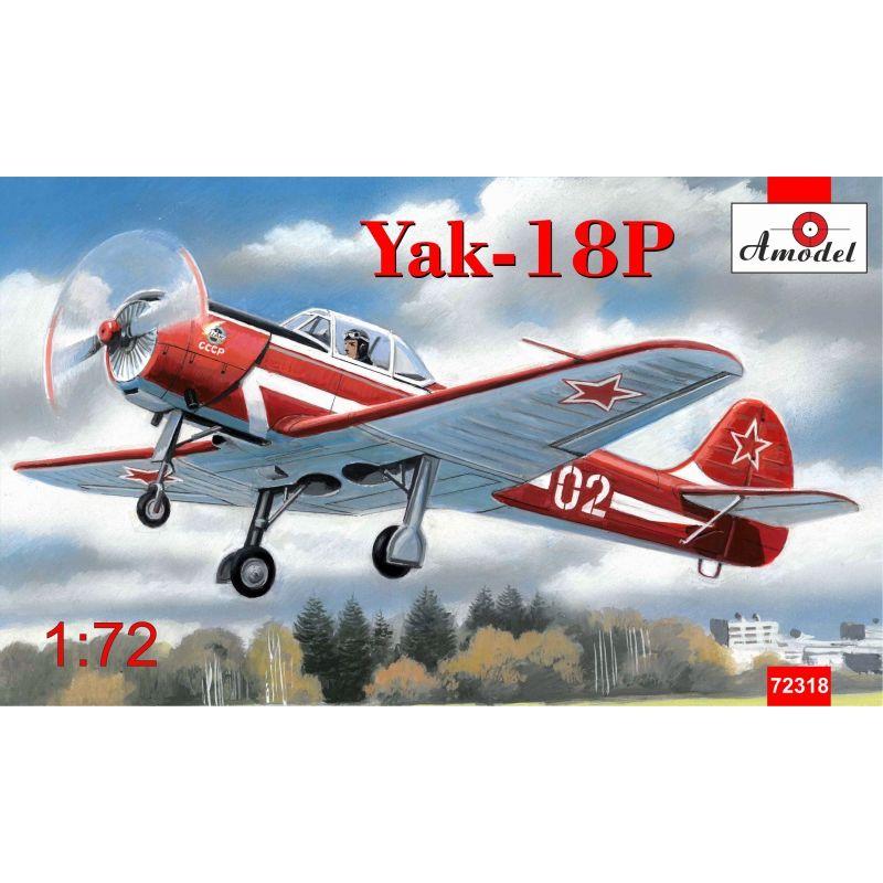 Пилотажный самолет Як-18П Amodel 72318