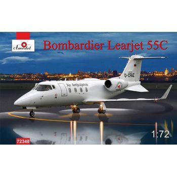 Пассажирский самолет Bombardier Learjet 55C Amodel 72348