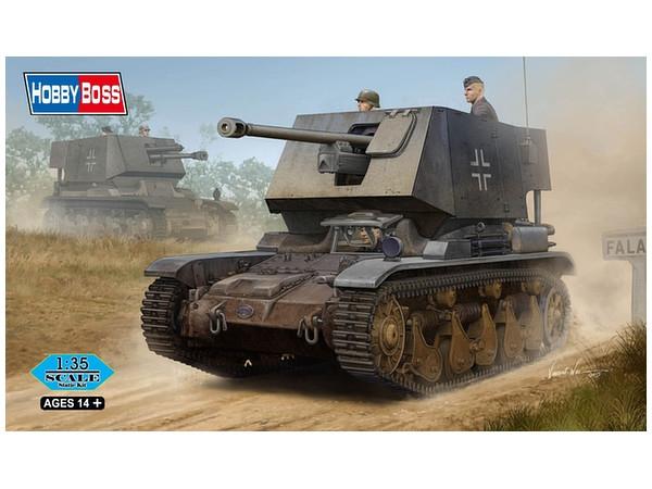 САУ 5 cm Pak(t) Sfl.auf Fgst. Pz.Kpfw.35 R 731(f) Hobby Boss 83808