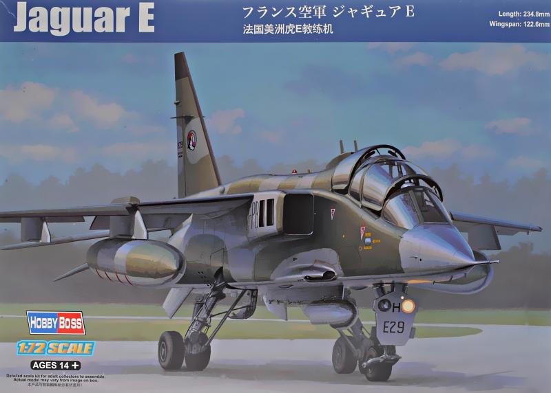 Французский истребитель Jaguar E Hobby Boss 87259