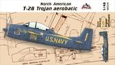Самолет T-28 Trojan