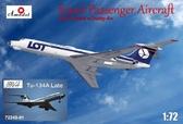 Пассажирский самолет Туполев Ту-134 LOT airlines, поздний