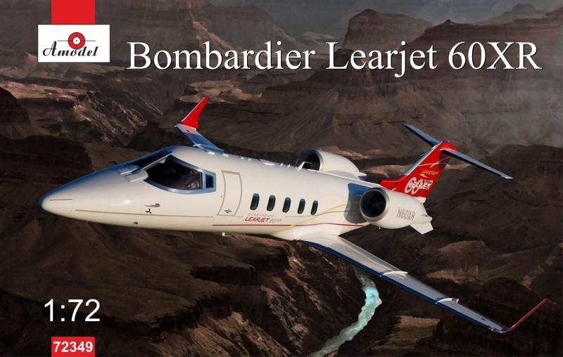 Самолет Bombardier Learjet 60XR Amodel 72349