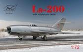 Истребитель Ла-200 с радаром Коршун