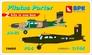 Самолеты Pilatus Porter PC-6 и Au-23 (2 шт), набор 2 Big Planes kits 14404 основная фотография