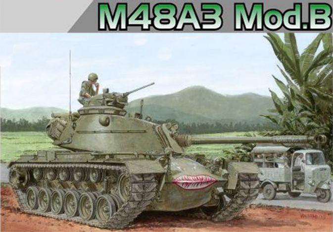 Танк M48 A3 Mod. B Dragon 3544
