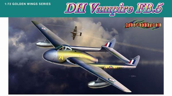 Истребитель DH 110 Vampire FB.5 Dragon 5085