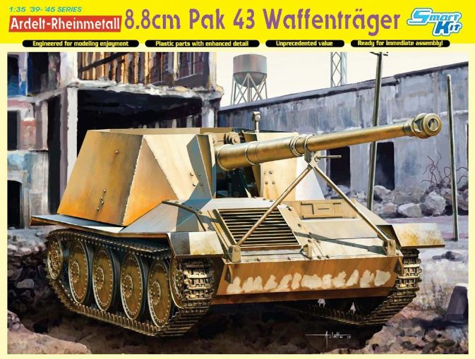 Немецкая САУ Ardelt-Rheinmetall 8.8cm PaK 43 Waffentrager Dragon 6728