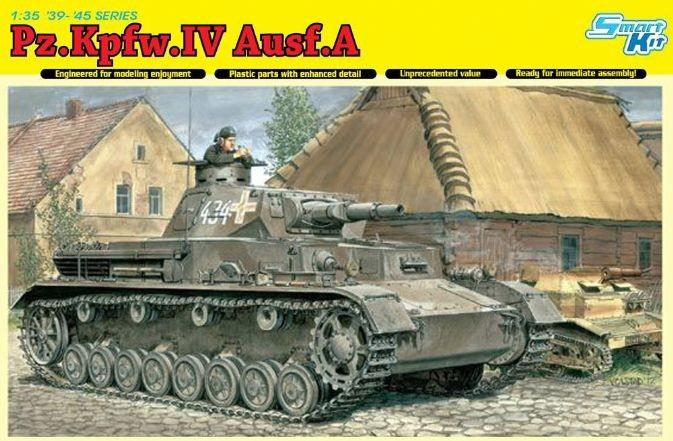 Немецкий танк Pz.Kpfw.IV Ausf.A Dragon 6747