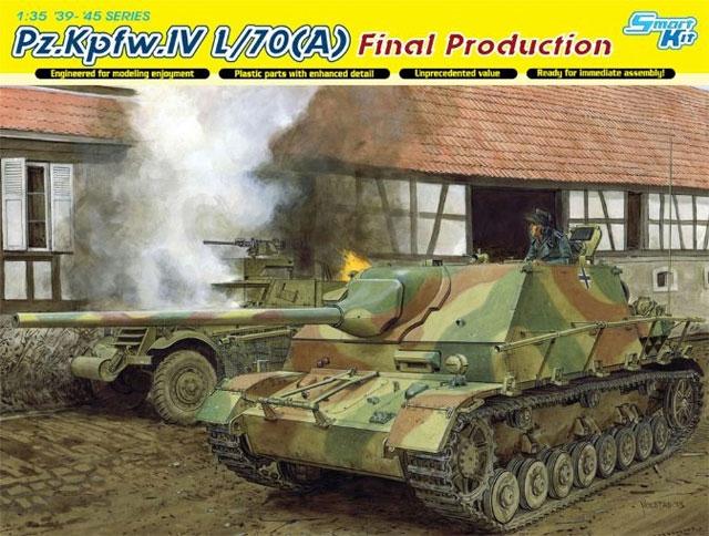 САУ Pz.Kpfw. IV L/70(A), поздний Dragon 6784