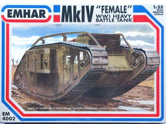 Танк Mk.IV Female Emhar 4002