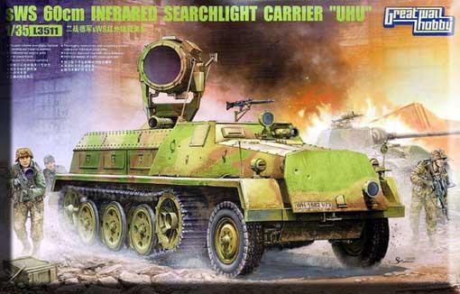 Полугусеничный траспортер sWS 60cm с инфракрасным прожектором