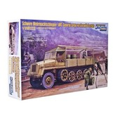 Полугусеничный грузовой траспортер sWS и 5 солдат