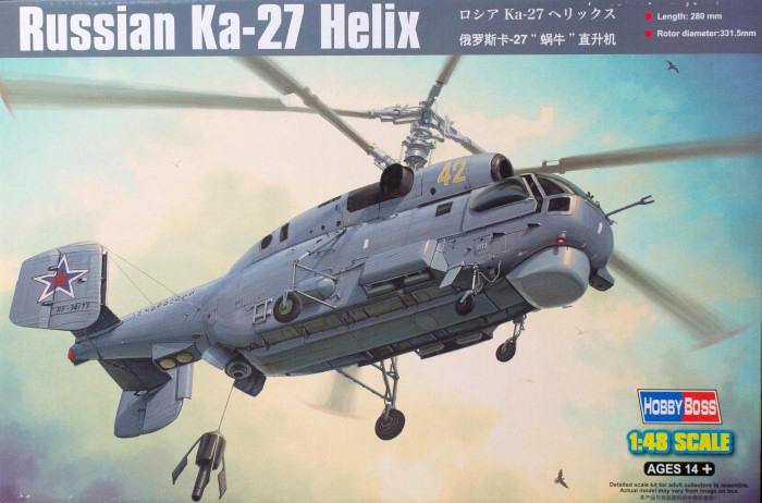 Вертолет Ka-27 Helix Hobby Boss 81739