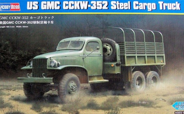 Американский грузовик GMC CCKW-352 Hobby Boss 83831