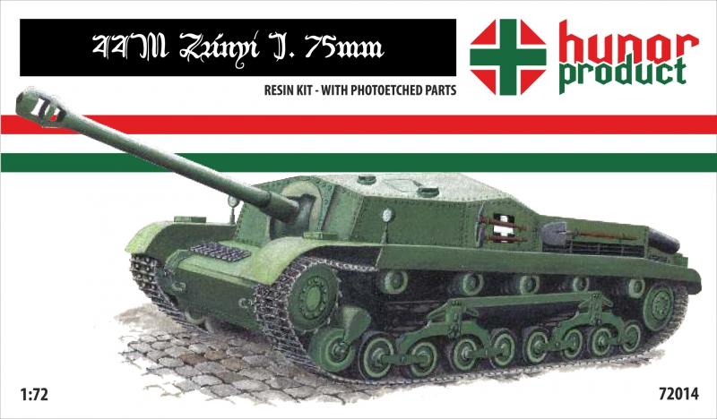 Самоходная артиллерийская установка 44M Hunor Product 72014