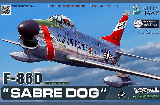 Истребитель F-86D Kitty Hawk 32007