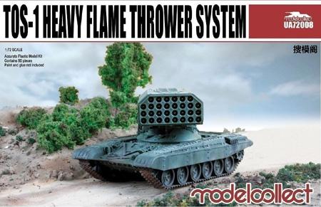 Тяжелая огнеметная система TOС-1A «Буратино» Model Collect 72008