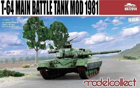 Танк T-64 мод. 1981 Model Collect 72014