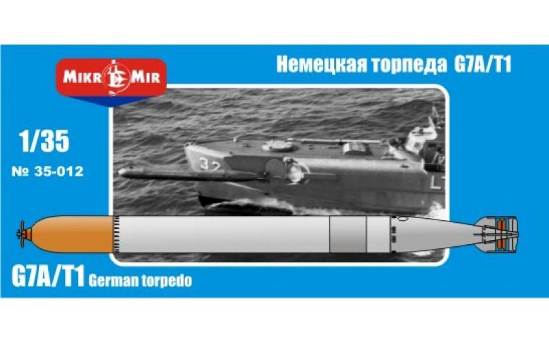 Немецкая торпеда G7A/T1 Micro-Mir 35012