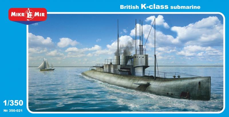 Британская подводная лодка типа K Micro-Mir 350021