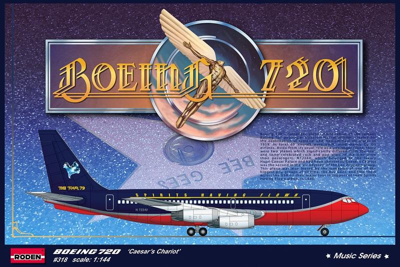 Авиалайнер Boeing 720